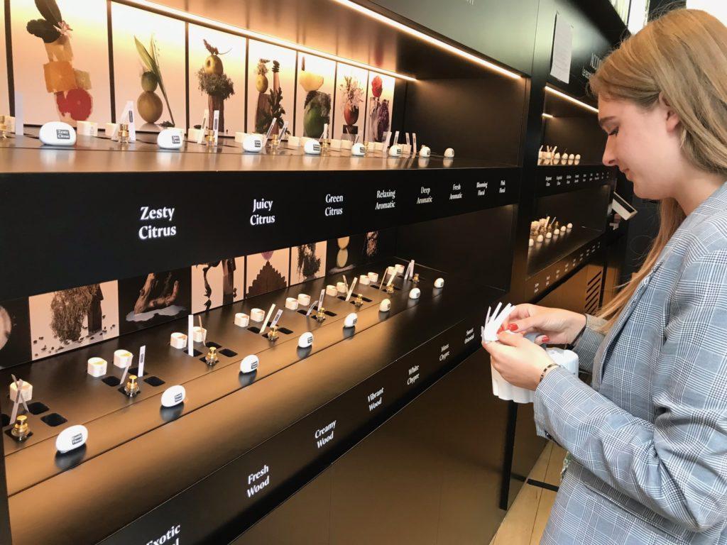 Création de parfum